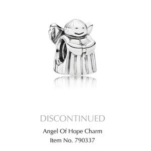 Pandora Angel of Hope Sterling Silver Charm